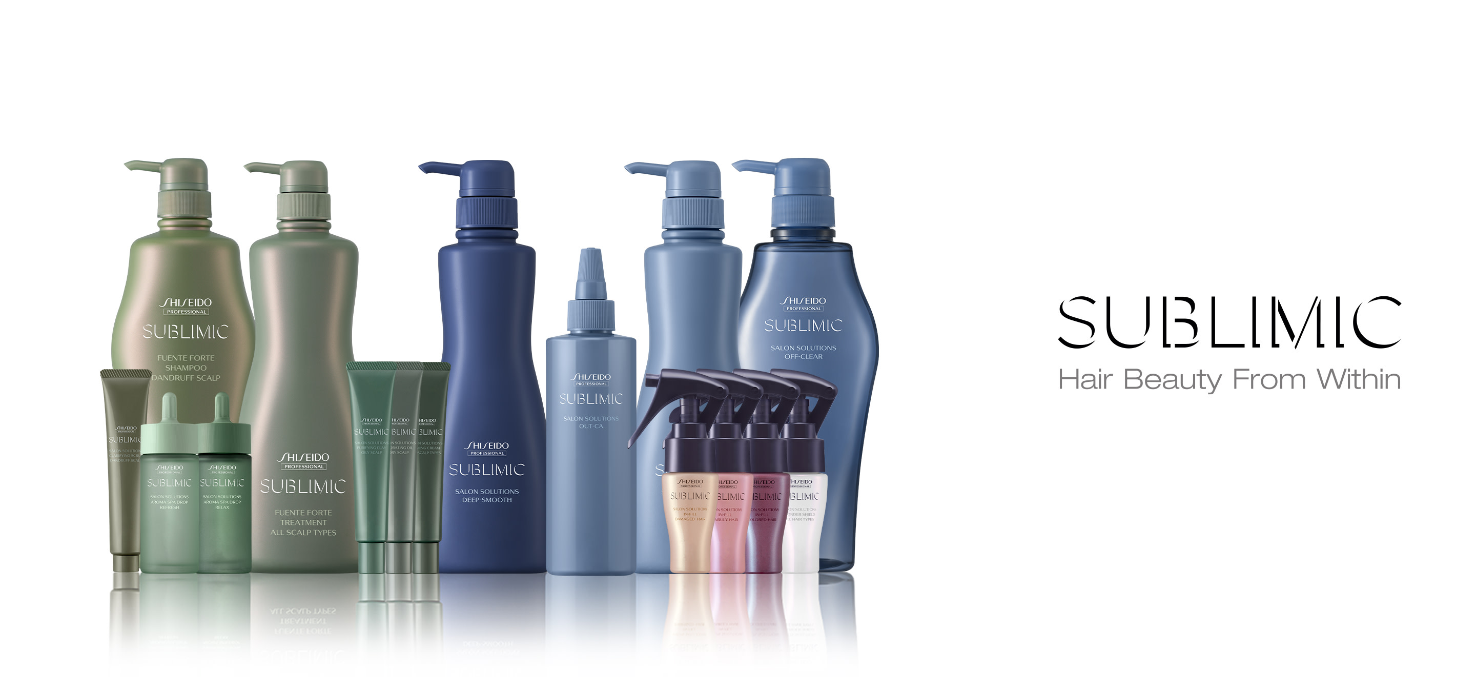 Shiseido Professional's Sublimic Products